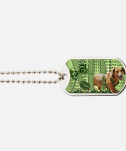 Doxie_Lucky_Charm5x7 Dog Tags