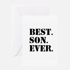 Best Son Ever Greeting Cards