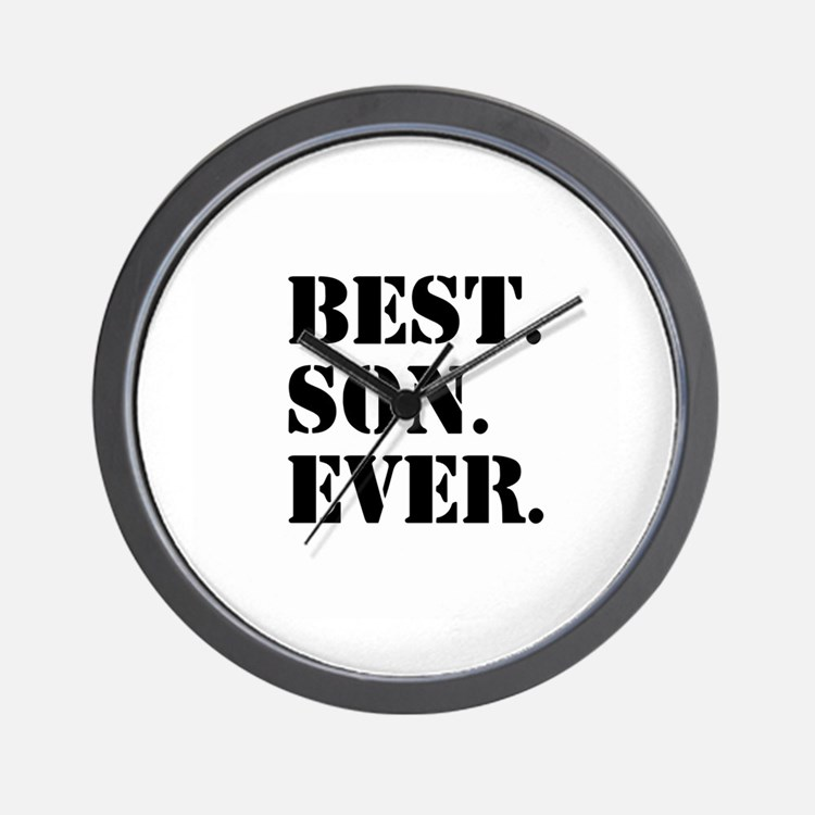 Best Son Ever Wall Clock