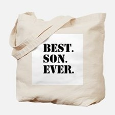 Best Son Ever Tote Bag
