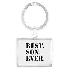 Best Son Ever Keychains