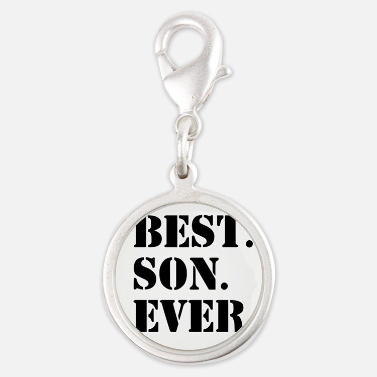 Best Son Ever Charms
