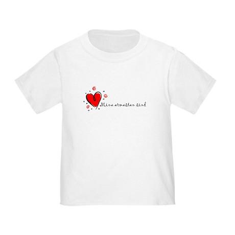 """I Love You"" [Estonian] Toddler T-Shirt"