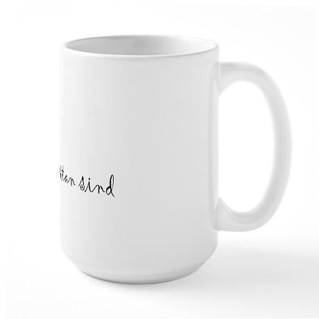 """I Love You"" [Estonian] Large Mug"