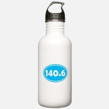 Sky Blue 140.6 Oval Water Bottle