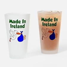 Made in Ireland Boy Drinking Glass