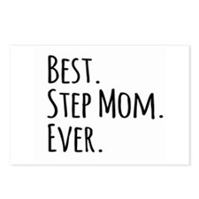 Best Step Mom Ever Postcards (Package of 8)