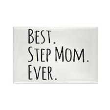 Best Step Mom Ever Magnets