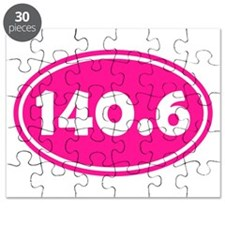 Pink 140.6 Oval Puzzle