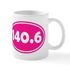 Pink 140.6 Oval Mugs