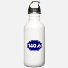 Blue 140.6 Oval Water Bottle