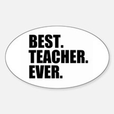Best Teacher Ever Decal