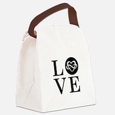 LOGO LOVE Canvas Lunch Bag