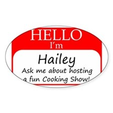 Hailey Decal