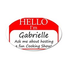 Gabrielle Wall Decal