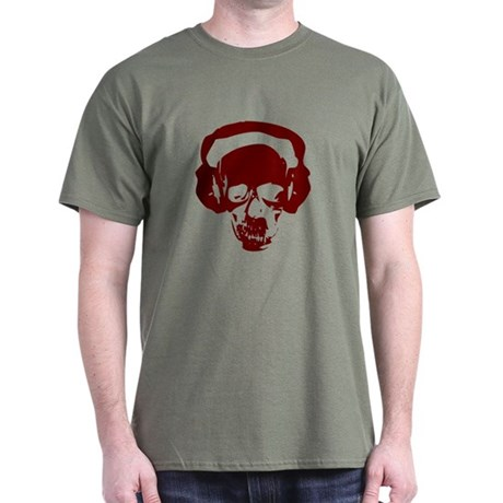 DJ Skull Dark T-Shirt