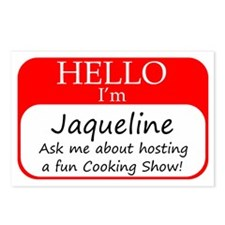 Jaqueline Postcards (Package of 8)