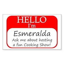 Esmeralda Decal