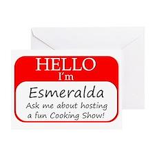 Esmeralda Greeting Card