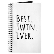 Best Twin Ever Journal