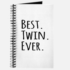 Best Twin Ever Journal