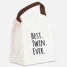 Best Twin Ever Canvas Lunch Bag