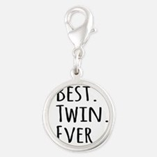 Best Twin Ever Charms