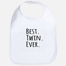 Best Twin Ever Bib
