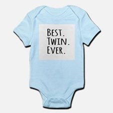Best Twin Ever Body Suit