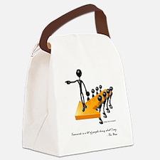 Teamwork by Boss Canvas Lunch Bag
