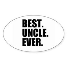 Best Uncle Ever Decal