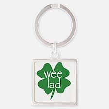 wee lad irish Square Keychain