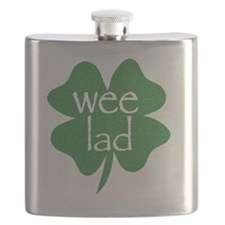 wee lad irish Flask
