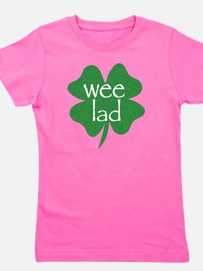 wee lad irish Girl's Tee