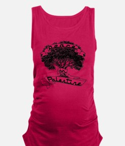 peace_in_palestine_t_shirt Maternity Tank Top