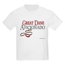 Great Dane Aficionado Kids T-Shirt