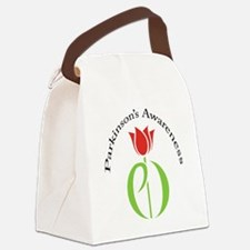 pdtulip awareness Canvas Lunch Bag