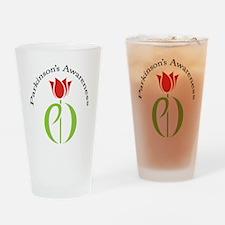 pdtulip awareness Drinking Glass