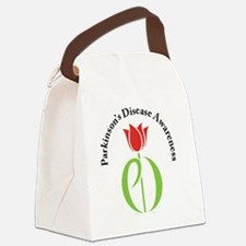 parkinsons awareness pd tulip Canvas Lunch Bag