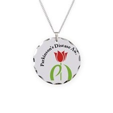 parkinsons awareness pd tuli Necklace Circle Charm