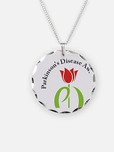parkinsons awareness pd tuli Necklace Circle Charm