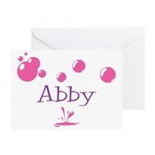 Abby Bubbles Greeting Card