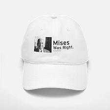 Mises was Right Baseball Baseball Cap