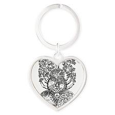 shirt 1 Heart Keychain