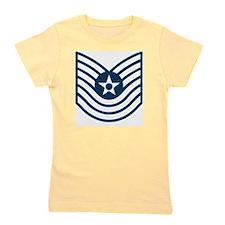 USAF-MSgt-Old-Blue Girl's Tee