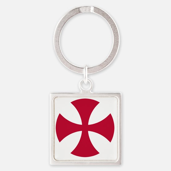 Cross Alisee Patte - Red Square Keychain
