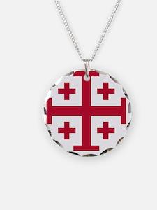 Cross Potent - Jerusalem - R Necklace