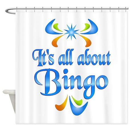 About Bingo Shower Curtain