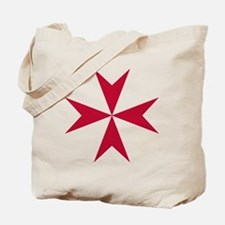 Cross of Malta - Red Tote Bag