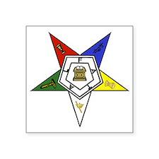 O. E. S. Emblem Sticker